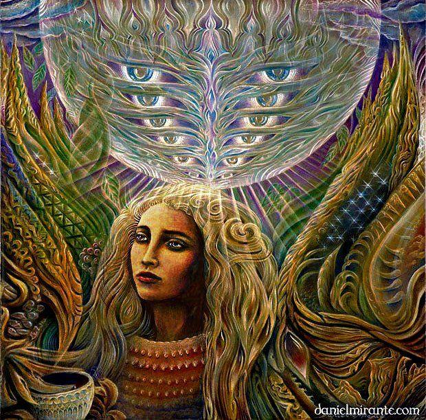 """Hyperdimensional Receptivity"" By Daniel Mirante"