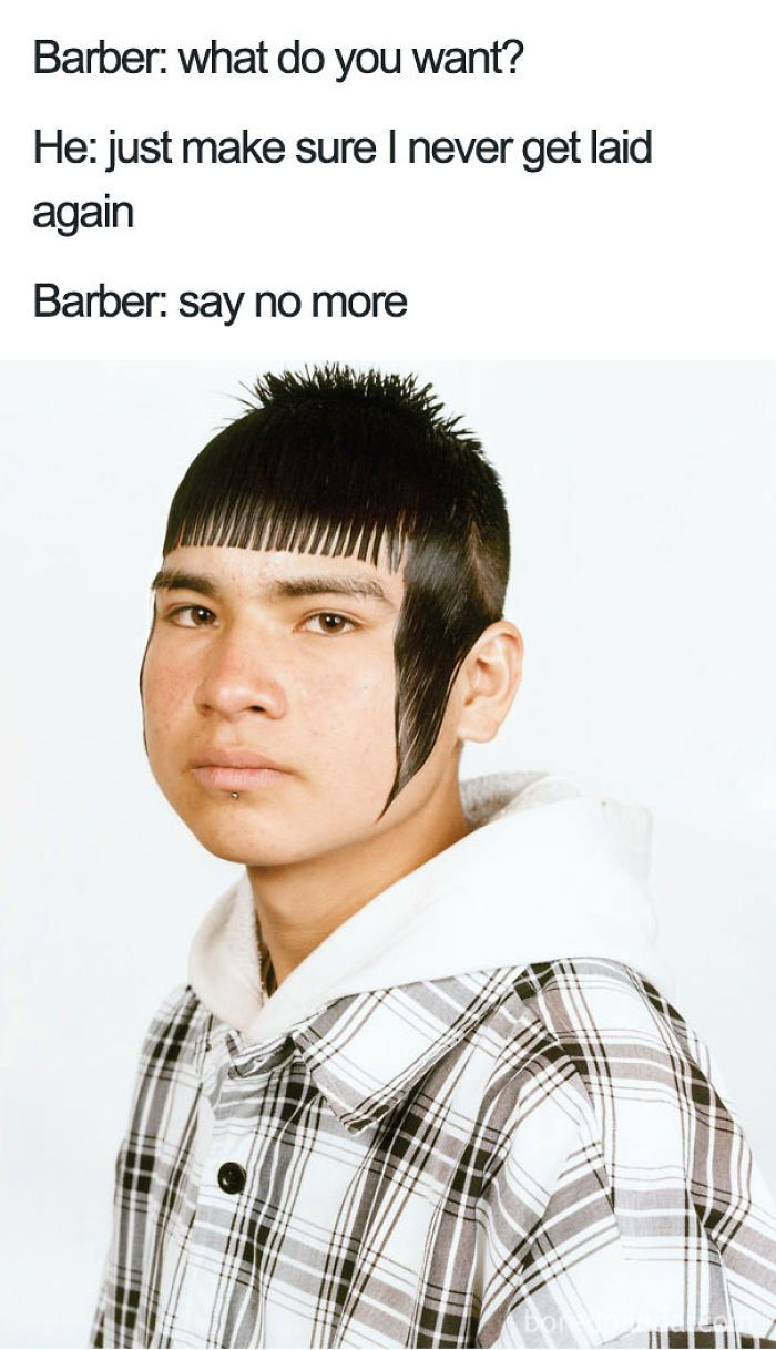 bad haircut memes don t