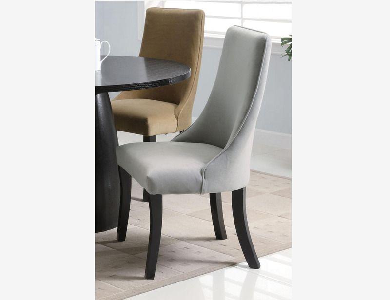 gray microfiber office chair