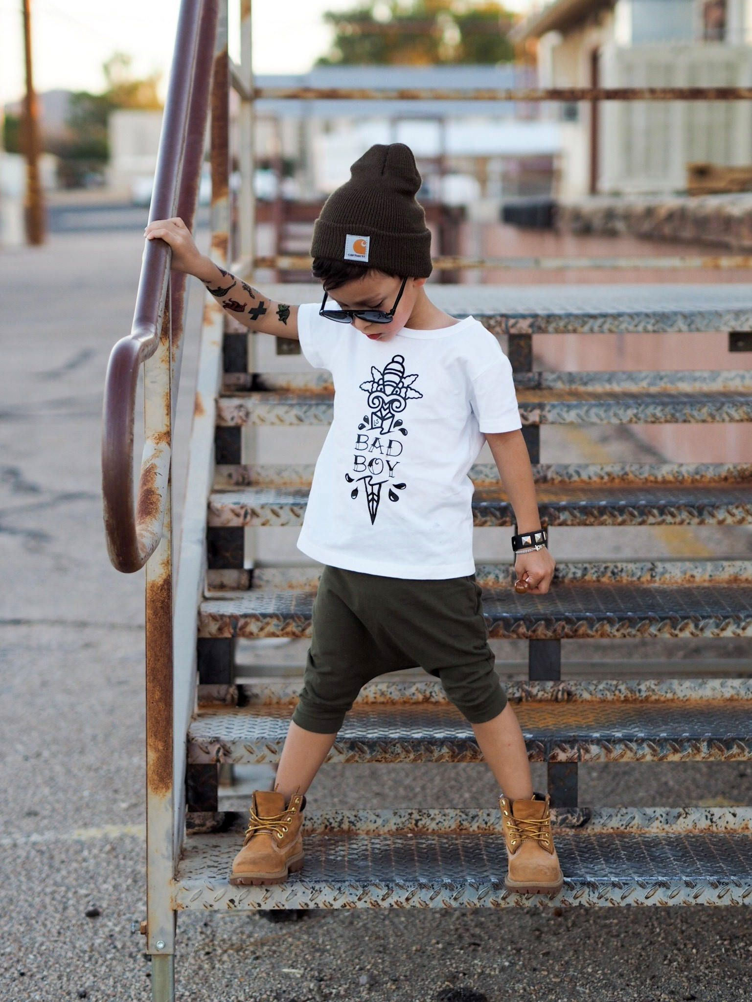 Bad Boy Kids Tee Edgy Toddler Clothes, Trendy Kids