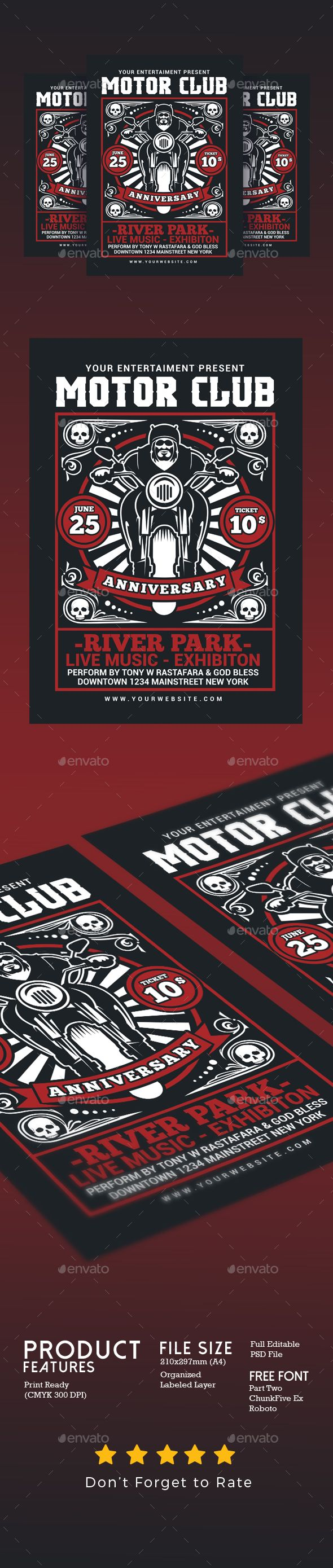 Motorcycle Club Event Flyer Pinterest Event Flyers Motorcycle