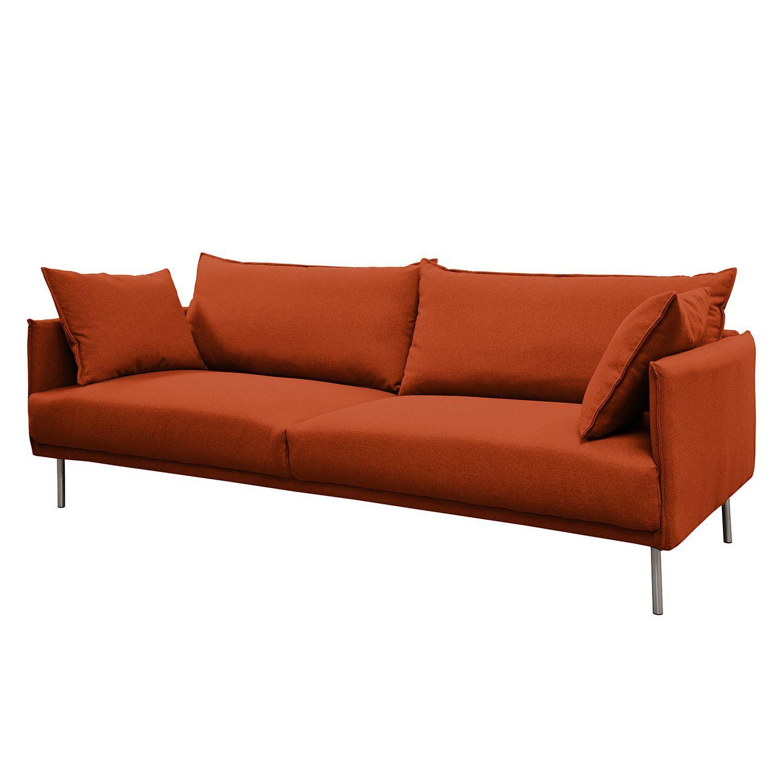 Sofa Vincent (3 Sitzer)   Webstoff Terracotta, Loftscape Jetzt Bestellen  Unter: · Wohnzimmer SofasMöbel ...