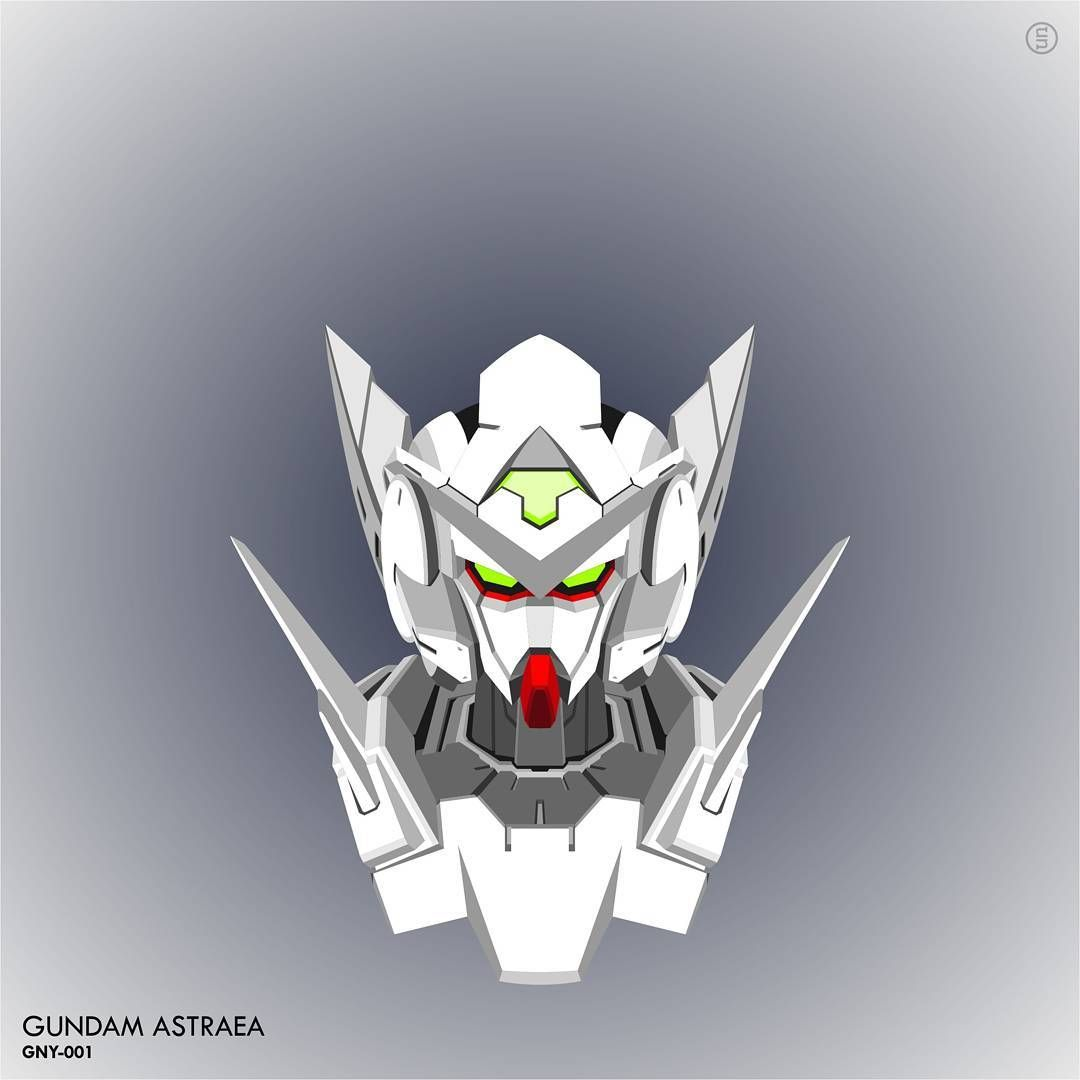 Gundam Iphone Wallpaper: #gundam #vector #mobilesuit #mecha #plamo #astraea Gundam