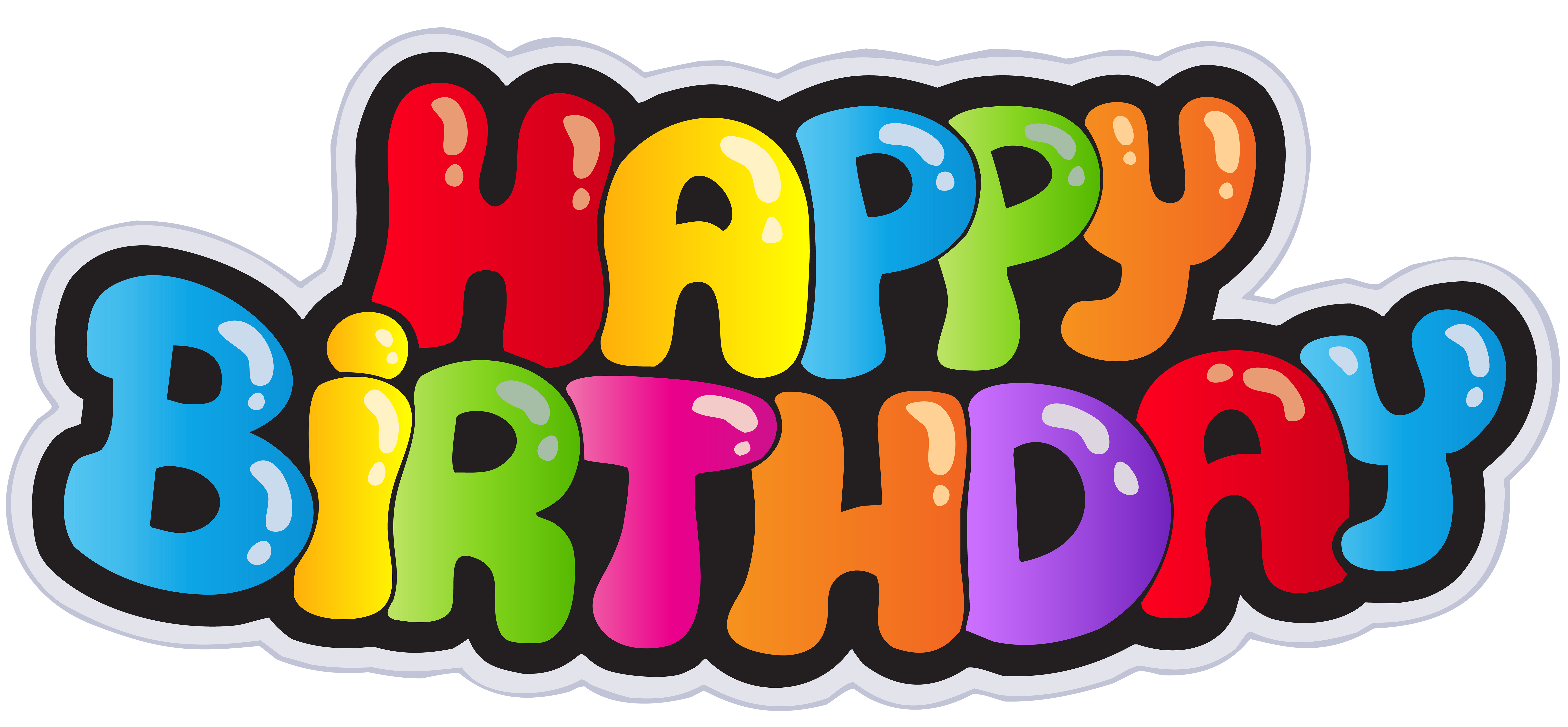 Happy Birthday PNG Clip Art Image Gallery Yopriceville