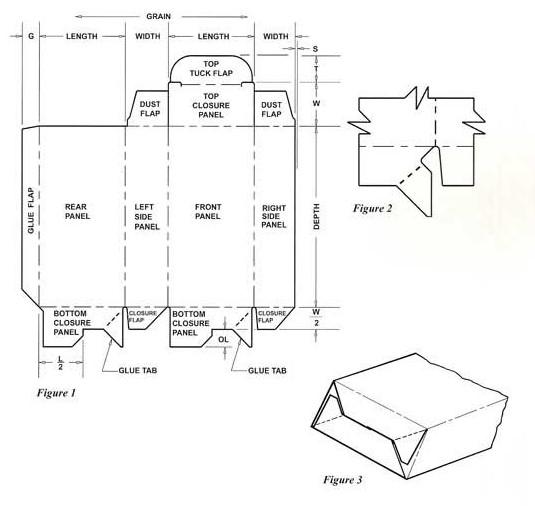12+ Folding cardboard box pattern ideas in 2021
