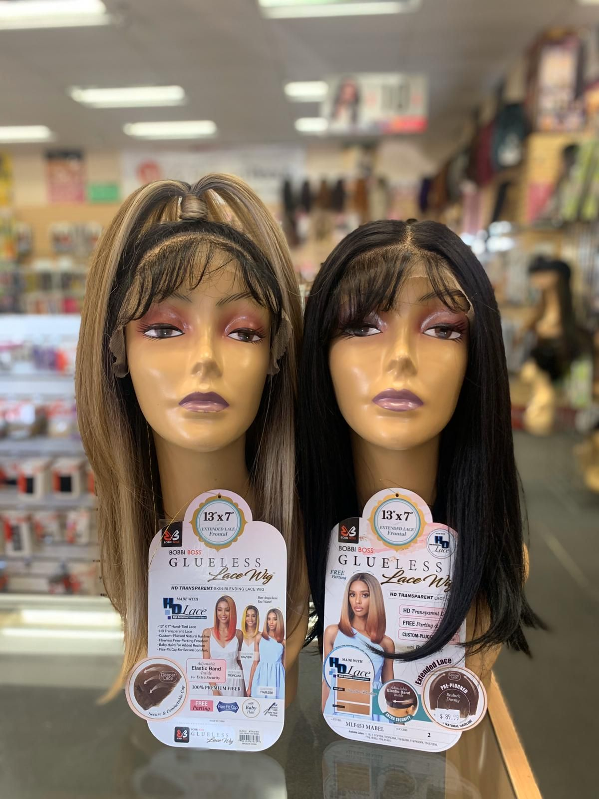Glueless Lace Hd Lace Front Wig By Bobbi Boss Mabel In 2020 Wigs