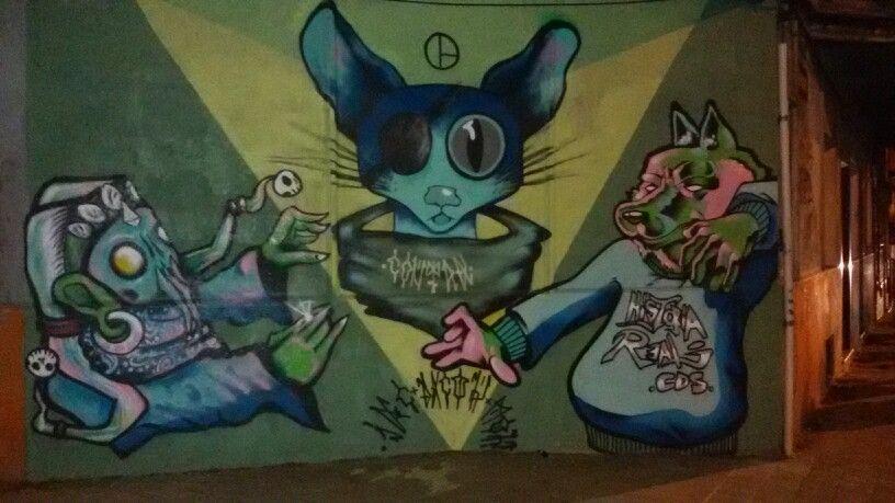 Arte callejero de lo mejor
