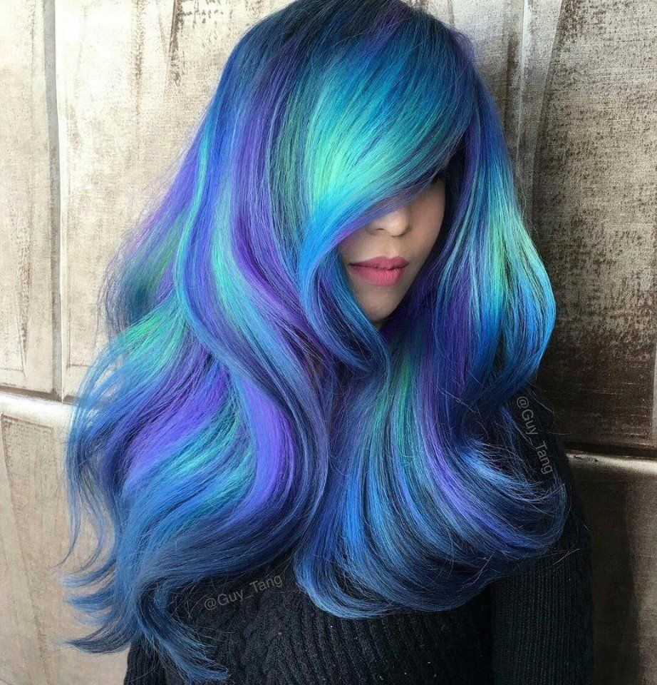 Look girl sexy pinterest girls hair makeup and hair coloring appreciation post to guy tang and his amazing work with colors i love love love colors i myself have purplepinkturquoise hair right now and i love it solutioingenieria Images