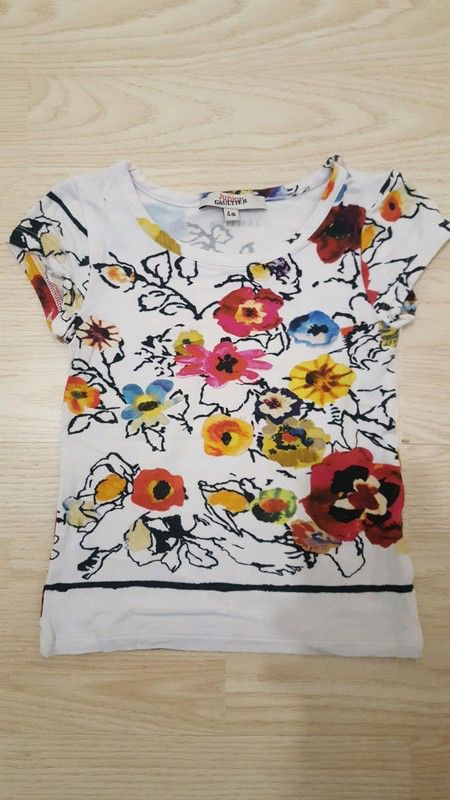 125c89e7dec38 T shirt Gaultier junior 4 ans | Jean paul gaultier