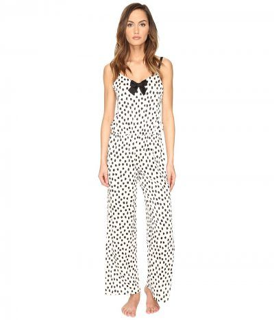 7d58ed72e4b Kate Spade New York - Jumpsuit (Flamingo Dot) Women s Jumpsuit   Rompers  One Piece