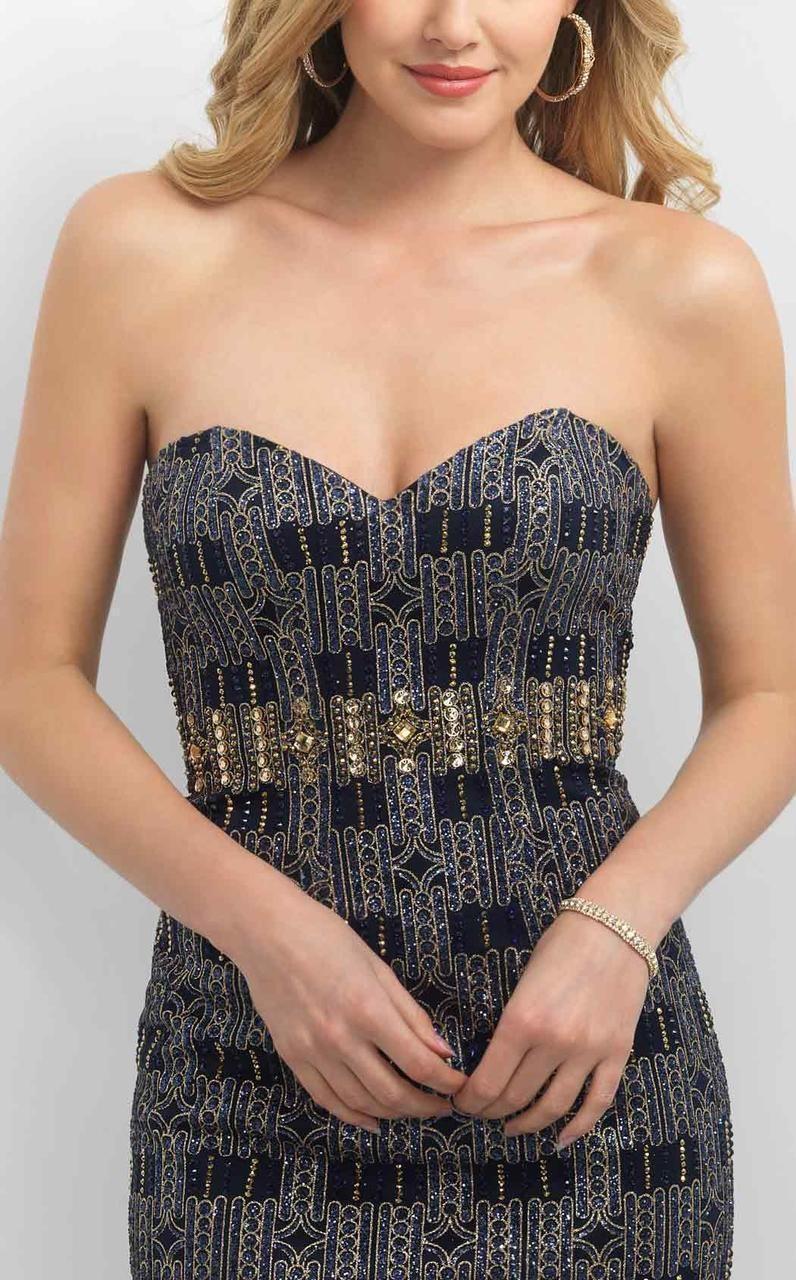 Blush By Alexia Designs Sweetheart Neckline Cocktail Dress C359