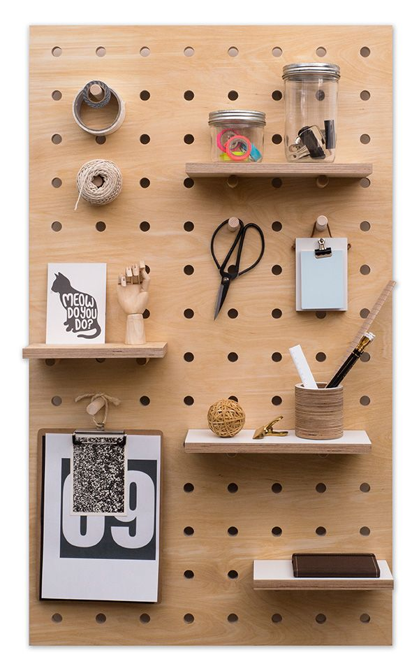 Looking for a different way to display your favourite home accessories? Why not try a peg board. You can hang things on it, or have mini shelves, plus there are lots of opportunities to be creative.