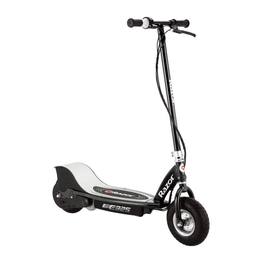 Razor E325 Electric Motorized Rechargeable Scooter W Top Speed Of 15 Mph Black Lowes Com In 2020 Kids Scooter Razor Electric Scooter Best Electric Scooter