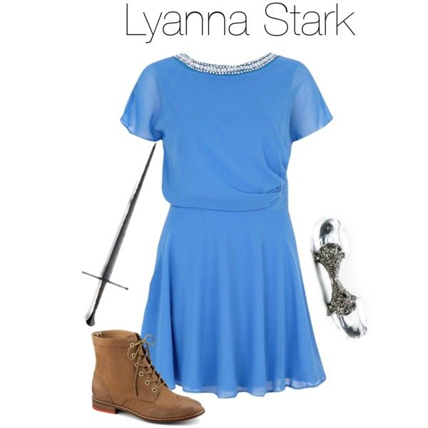 """Lyanna Stark"" by daciejeanne on Polyvore"