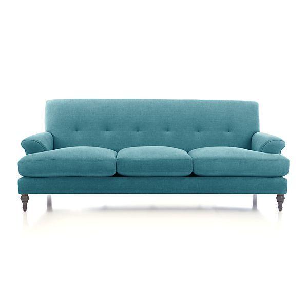 Camilla 3 Seat Sofa Crate And Barrel Furniture