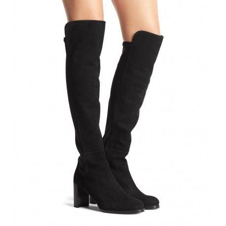 dc8ba7eb783 Stuart Weitzman The Lowjack Boot Black Suede  women  fashion
