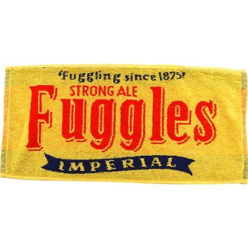 Fuggles Strong Ale Beer Bar Towel By KegWorks. $8.95