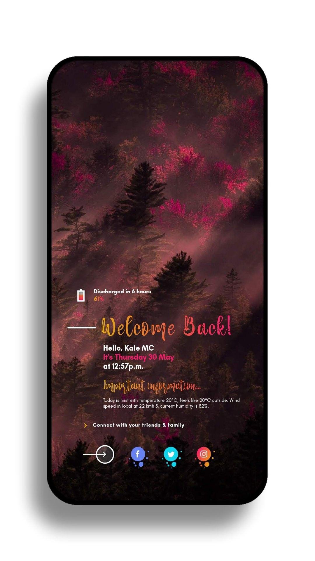 Pin by Jor Qui on Homescreens (Various autor) App