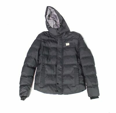 (eBay Sponsored) FS Wear Fashion Mens Jacket Black Size Medium M Hooded Full-Zip Puffer $299 #087