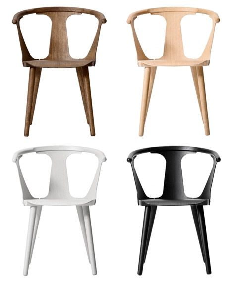 In Between wooden chair