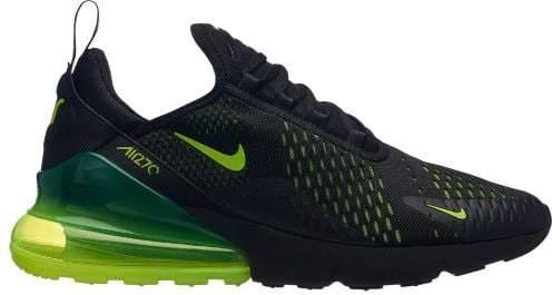 Nike Men Air Max 270 BlackVoltOil Grey