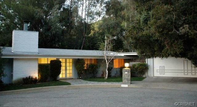 Celebrity homes 1960s woodland hills mid century modern home