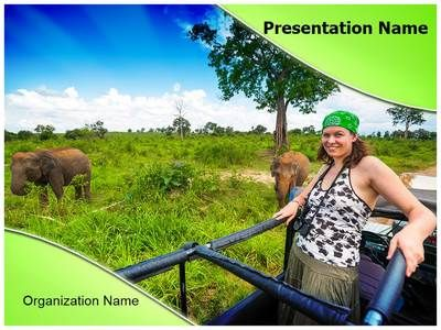 jungle safari powerpoint template is one of the best powerpoint