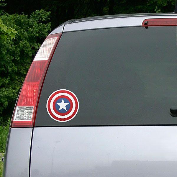 Marvel avengers die cutz auto decals