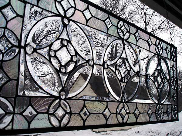 LOVE THIS for above the laundry room door...The Dazzleton Rounds GS13 | Stained Glass and More, Inc.