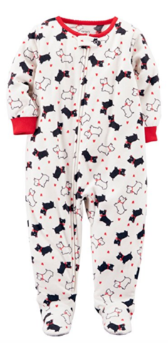 fc2cabe24805 Carter s Long Sleeve One Piece Pajama-Baby Girls (1-Piece ...