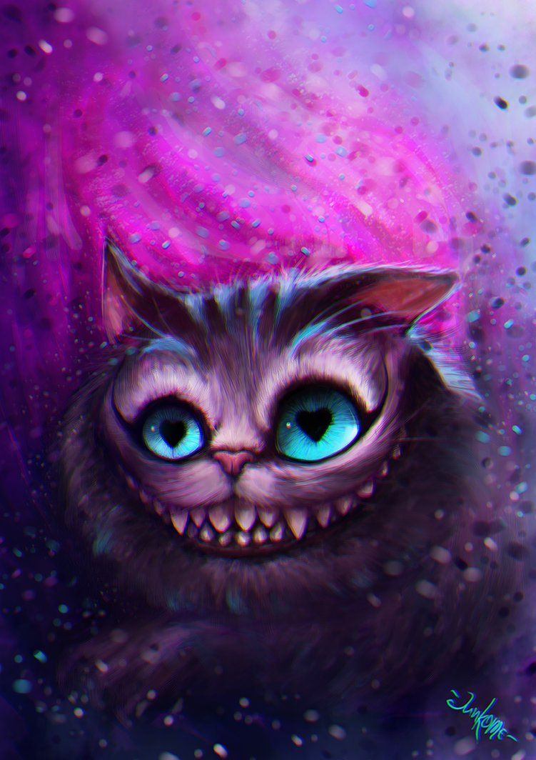 Cheshire Cat by junkome | Alice stuff | Pinterest | Gato de Cheshire ...