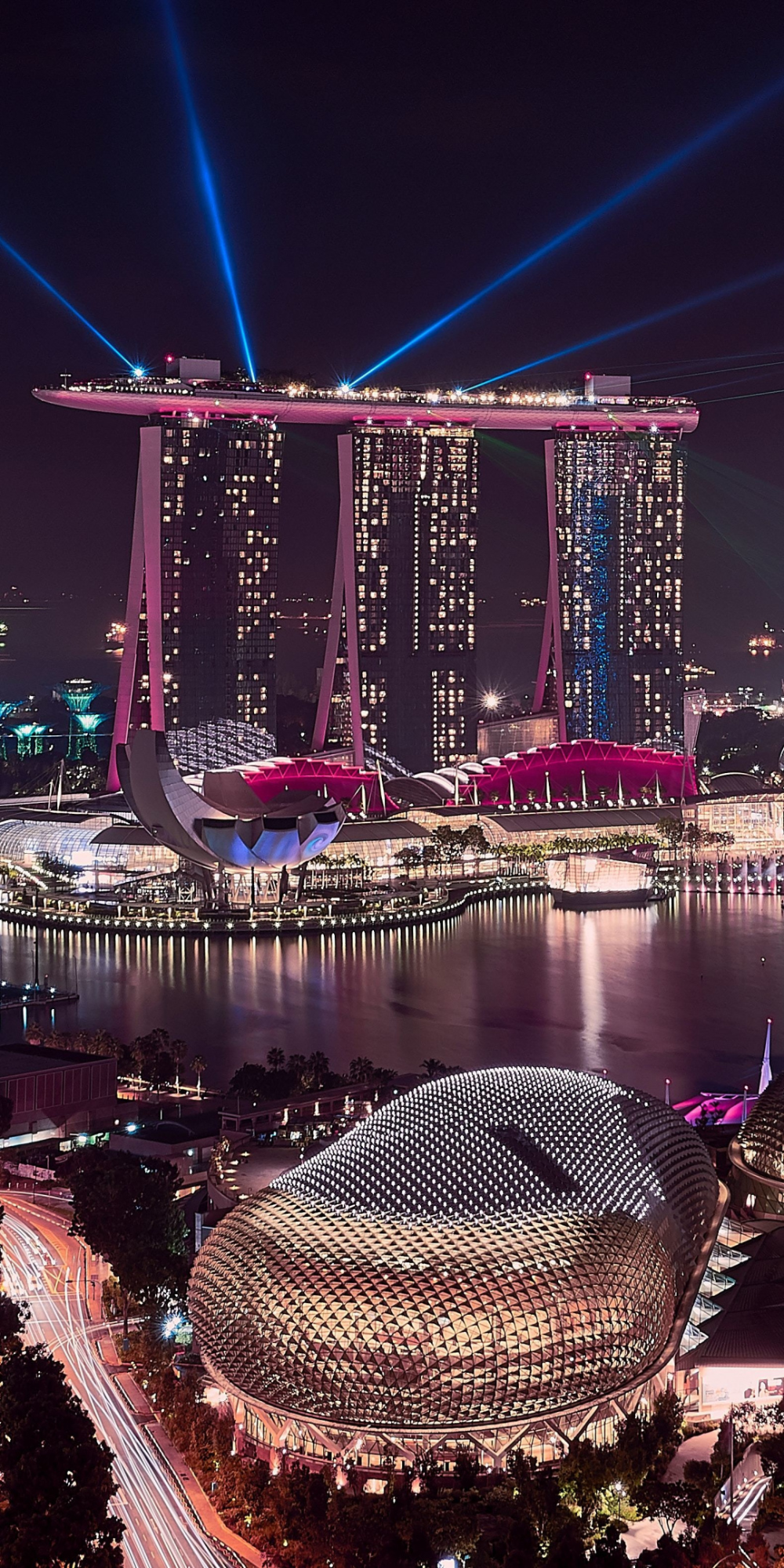 Download 1080x2160 Wallpaper Marina Bay Sands Singapore Cityscape Buildings Aerial View Honor 7x Honor 9 In 2020 Singapore Travel Sands Singapore Singapore City