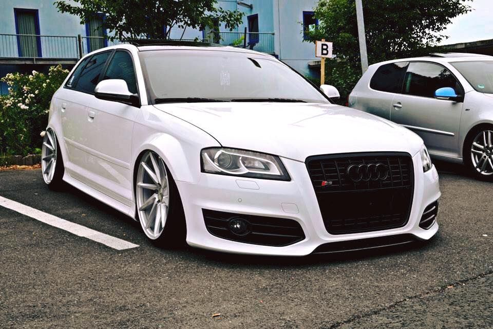 audi s3 vossen cvt audi pinterest audi a3 coches. Black Bedroom Furniture Sets. Home Design Ideas