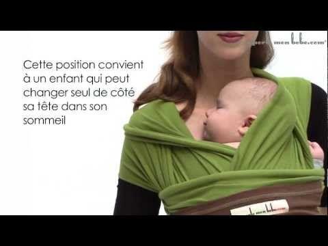 001d3a3aa9d8 Echarpe de portage - Positions pour un nourrisson - JPMBB - YouTube ...
