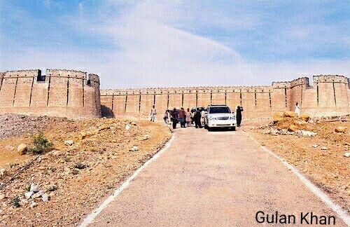 Beautiful Umerkot Fort Thar Desert Area Sindh Pakistan Sindhi