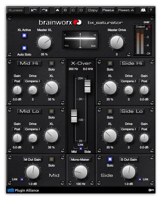 BRAINWORX V2.1.1 VST BX RTAS TÉLÉCHARGER DIGITAL