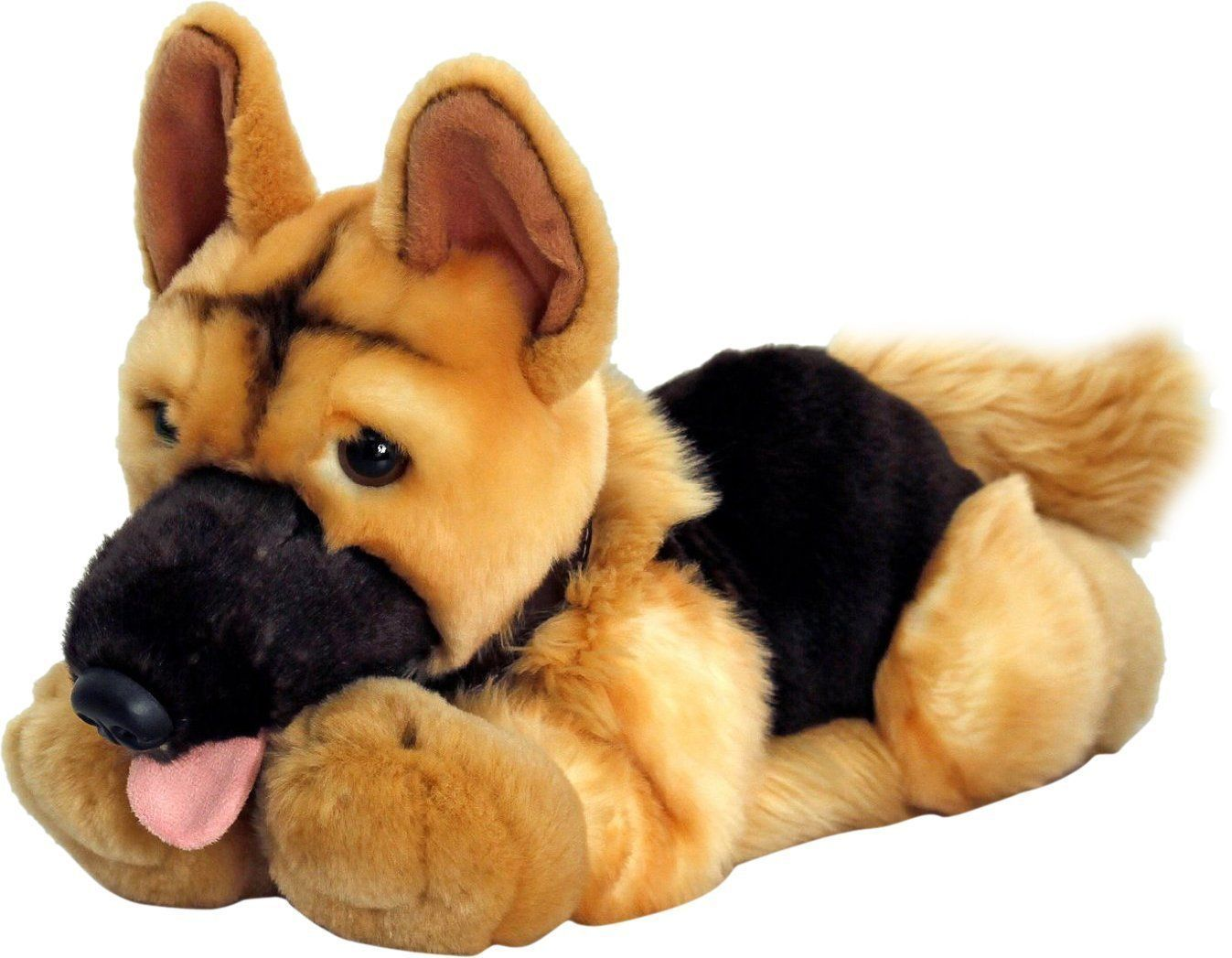 Keel Soft Toys 30cm Nero The Alsatian Hand Made Plush Toy Dog