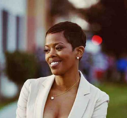 Thin Very Short African American Short Hairstyles   Hairstyles ...