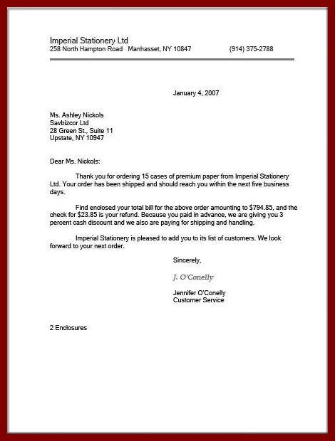 Official Business Letter Format Indented Formatg Style All