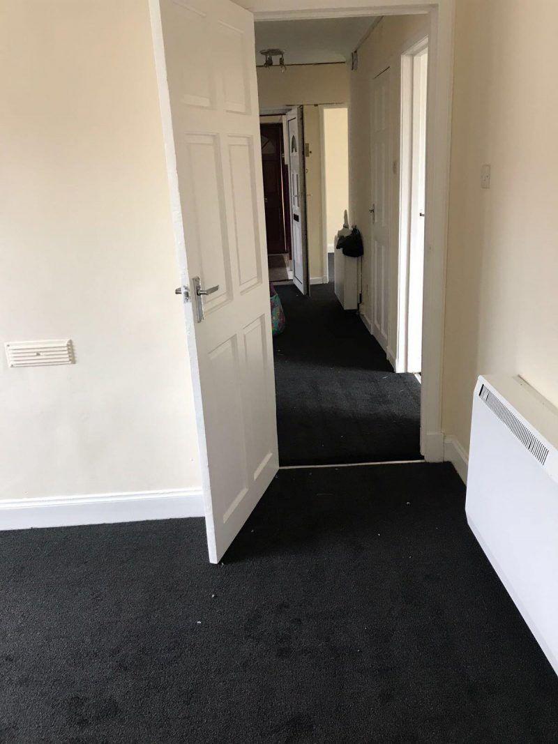 Economical hardwearing carpet installed for Landlord