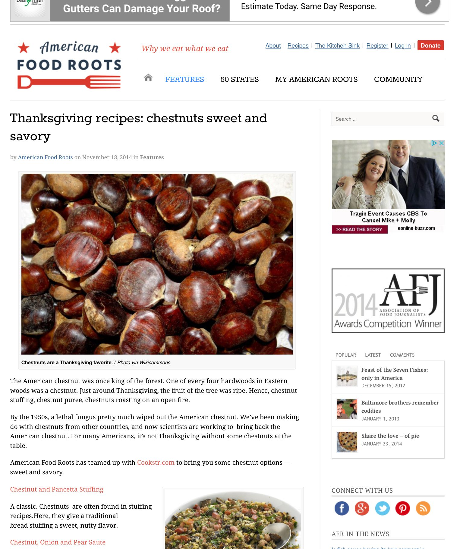 Thanksgiving chestnut recipes american chestnut trees pinterest thanksgiving recipes chestnuts sweet and savory forumfinder Image collections