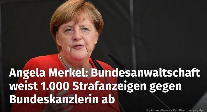 Bundeskanzlerin Angela Merkel Wurde Seit Beginn Ihrer