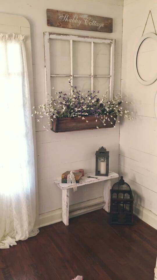Photo of Flower box under the window, #Flower box #farmhousedecorentryway #Window #unterm