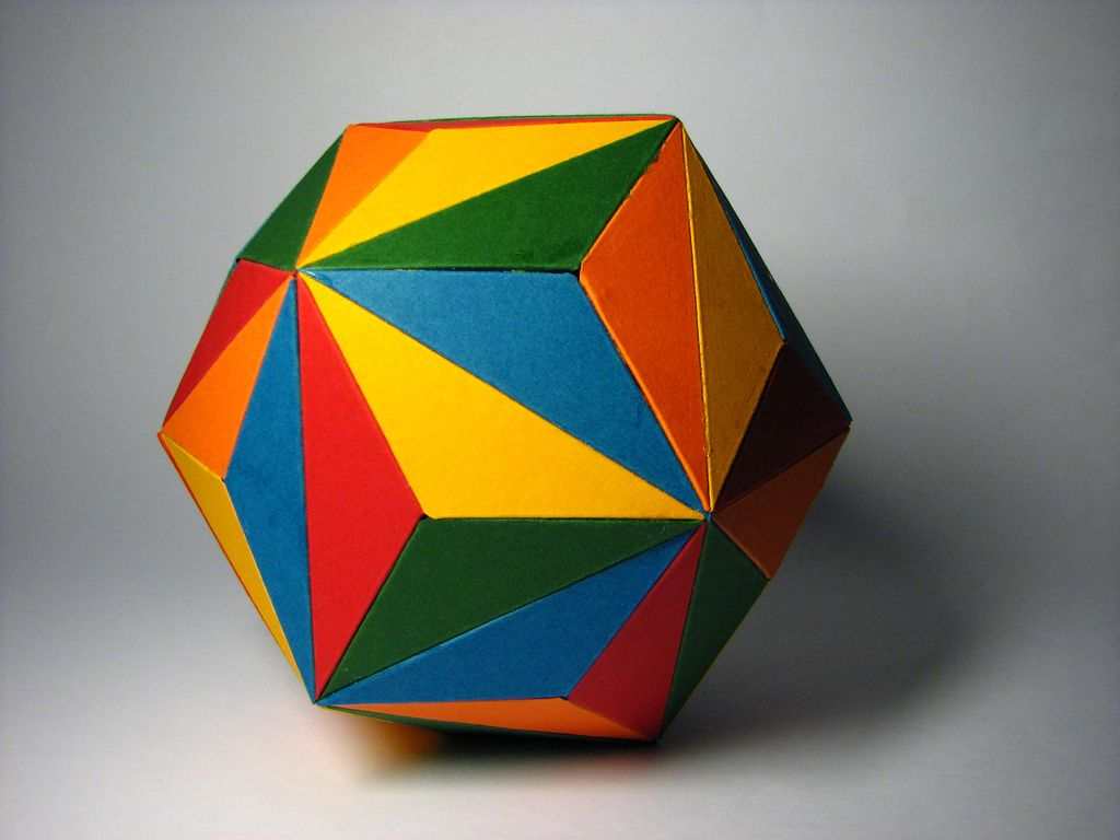 3d Printing Mathematic Figures With Multicolor Prints 3d Printing Creating Art