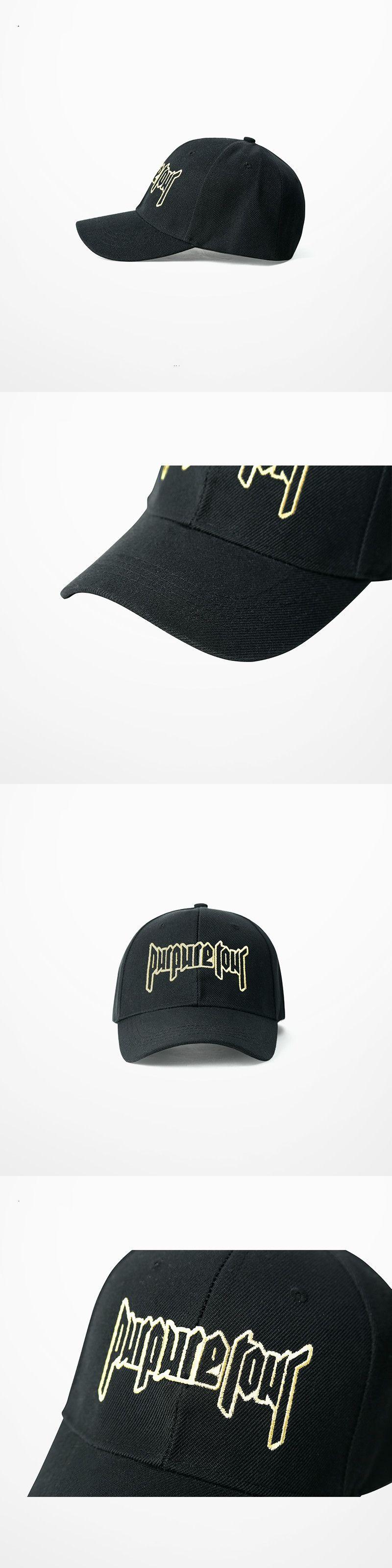 Purpose Tour Embroidered Baseball Hip Hop Cap Vintage Retro Justin Bieber  Hat High Street Dark Tide b4e752583ab7