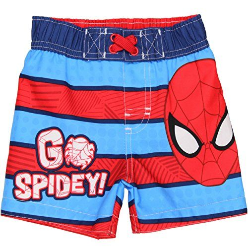 Spider-Man Boys Swim short blue