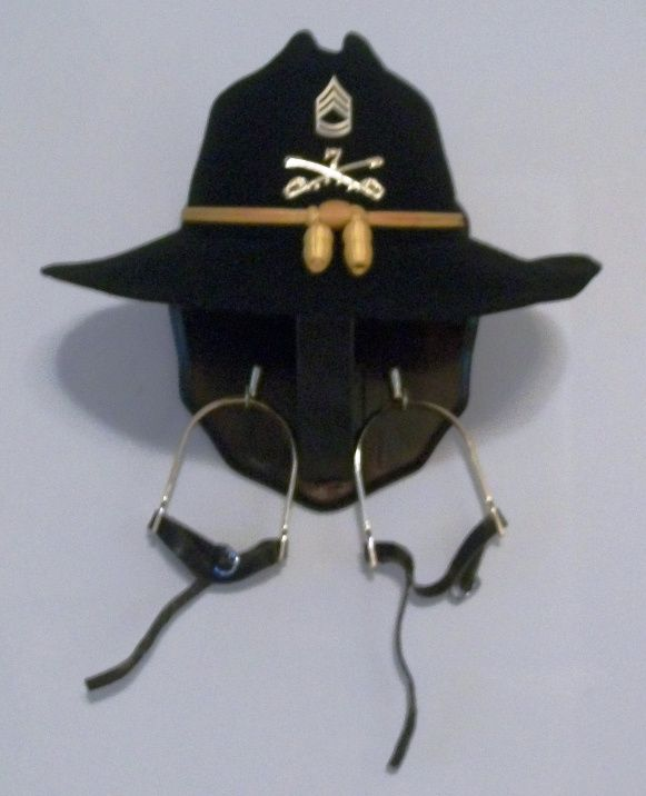 Stetson Holder Made By Sfcp Military Shadow Box Army Crafts Military Crafts