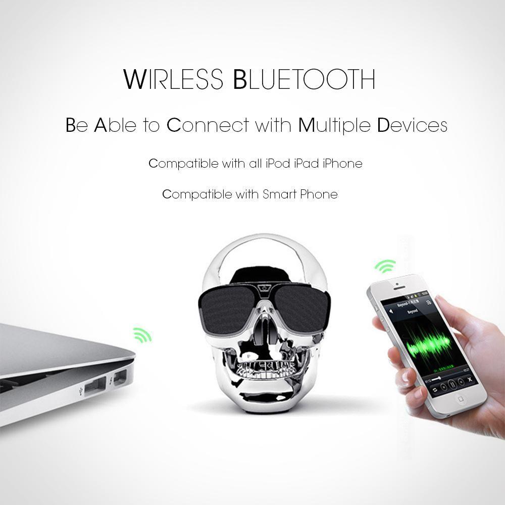 Skull Wireless Bluetooth Speaker Audio crossover