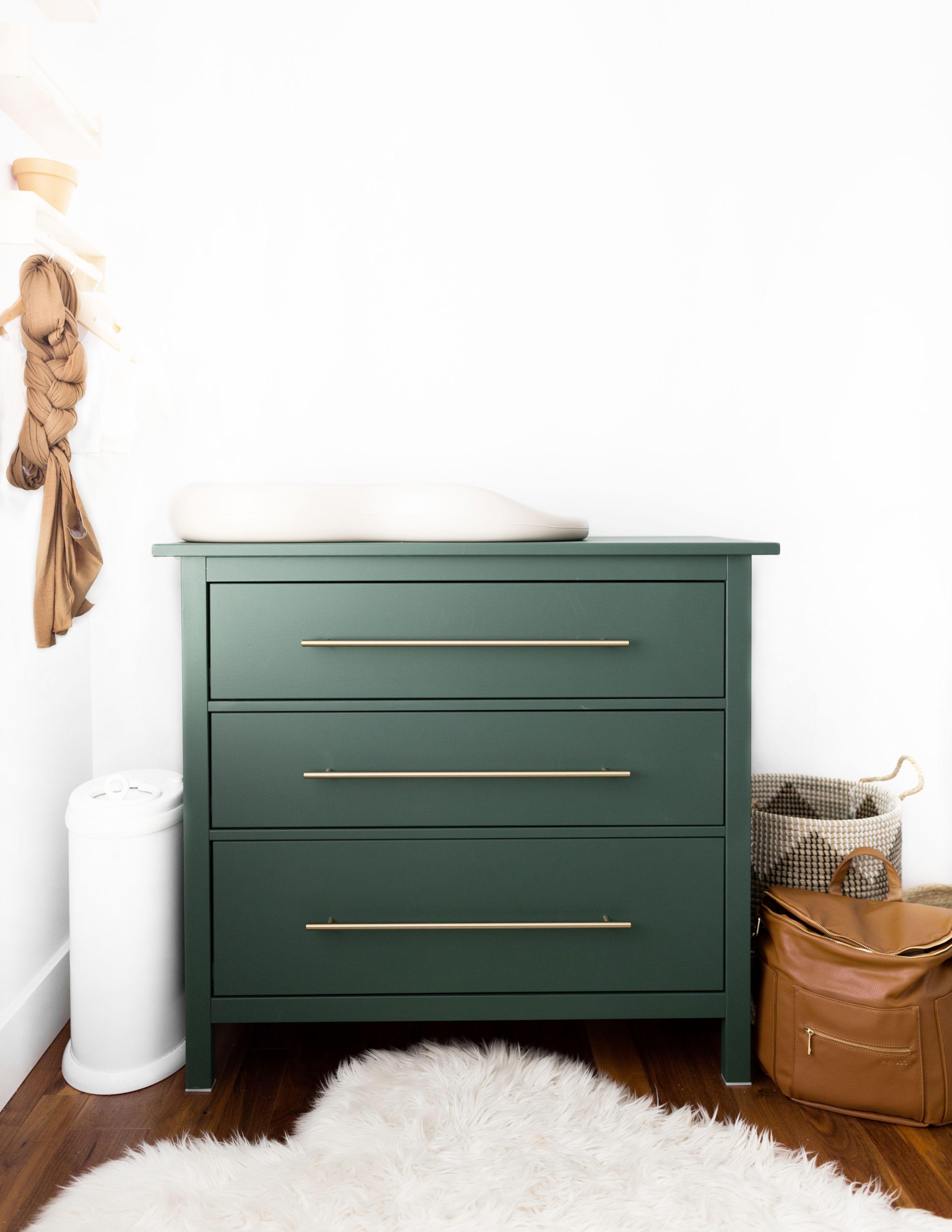 Cassettiera Ikea Malm Usata.Ikea 3 Drawer Hemnes Hack Modern Boho Scandinavian Nursery