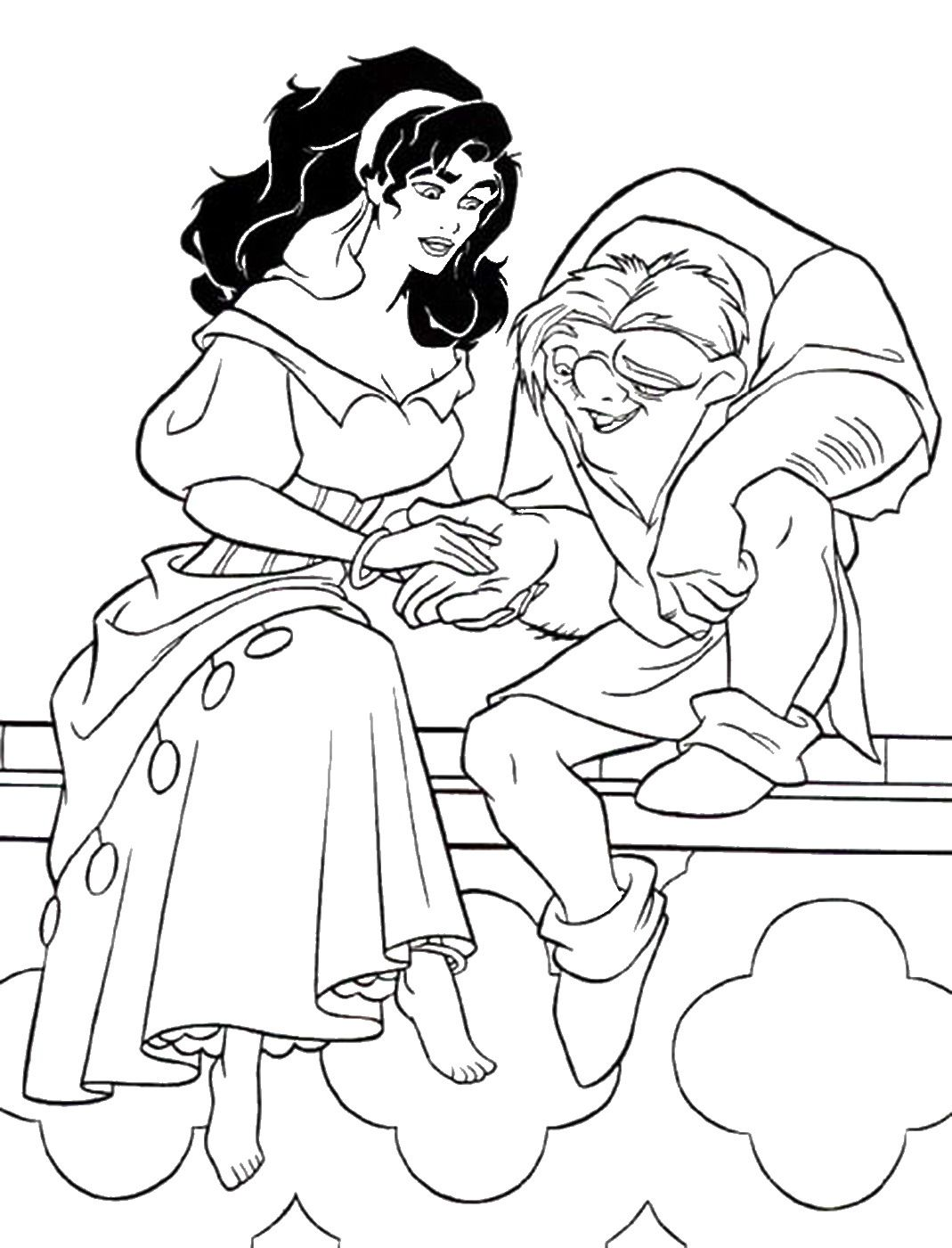 Disney coloring pages, Cute disney drawings, Cool coloring pages